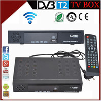 Cheap DVB-T2 TV BOX Full HD 1080P Digital Terrestrial Receiver H.264. MPEG4 Video Broadcasting BOX OSD Multi-language With HDMI USB PVR Recording