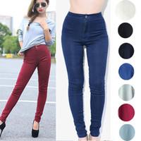 acid wash jeans - 2015 women vintage American Apparel high waist easy jeans pencil Stretch Denim acid wash snowflakes pants white high waist jeans