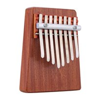 Wholesale Solid Rosewood Key Mbira Finger Thumb Music Piano Education Toy Musical Instrument for Music Lover and Beginner order lt no track