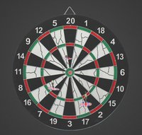 Wholesale Dartboard Hot Special and Casual Game Room Fashion Family Fun and Classic Hard Thickening Inch inch flocking Dart Board Sport Game