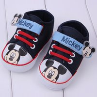 Wholesale baby walk shoes baby boys girls first walkers shoes years old baby CM Soft soled canvas shoes baby toddler baby shoes