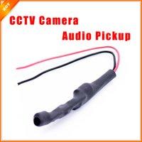 al por mayor sistema de cctv sonido-De alta Calidad de Tipo Oculto de captación de Audio de Sonido del Micrófono Monitor de Sistema de CCTV