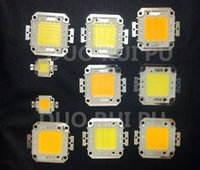 Wholesale 10W W W W W LED Integrated High Power Lamp Beads Warm white White MIL Huga Chips