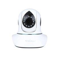 Wholesale Wireless IP Camera Plug Play PnP P2P Network Webcam Pan Tilt Wifi Micro SD Card Security IR Cut Vstarcam T7838WIP H P HD