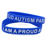 autism support - Hot Sell PC I Am A Proud Autism Parent Silicone Wristband Show Your Support By Wearing This Eye Catching Bracelet