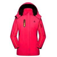 Wholesale Brand New Women Winter Thermal Fleece Warm Windproof Waterproof Outdoor Sportswear Cycling Running Skiing Camping Hiking Jacket