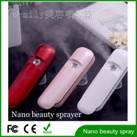 Wholesale Factory Outlet Handheld mini electric facial mist sprayer With USB portable rechargeable for skin Moisturizer Emily handy mini mist sprayer