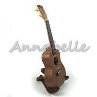 Wholesale quot quot Ukulele Soprano Concert Hawaii Small Guitar Sapelli Wood Uke four Strings Musical Instruments