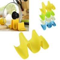 kitchen ware - New Kitchen Ware Tool Pot Pan Cover Stand Holder Racks Ladle Spoon Storage Rack