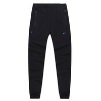 badminton fitness training - Speed dry air breathing summer training fitness pants male track and field running pants badminton tennis pants