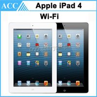 Wholesale Original Apple iPad th Generation GB GB GB WIFI inch Retina Display IOS A6X Warranty Included Black And White
