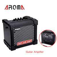 electric guitars amps - High Quality Electric Guitar Amp Amplifier Speaker Built in Tuner Volume Tone Control with Power Adapter Leather Strap I703