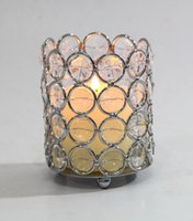 beaded votives - Bling votives crystal bling beaded candle tealight holder tealight holder for wedding decoration HWB dia inch