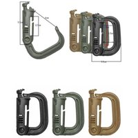 backpacking rucksacks - Camping Outdoor Activity Edc Gear Grimloc D Shape Carabiner Webbing Belt strap Bergen Rucksack Itw Ghillie