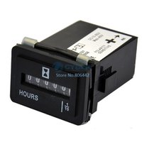 Wholesale New Hour Meter Timer Counter Magneto Powered Small Engine V V Volts AC or DC TK0284