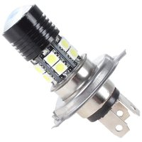 Wholesale 12V W H4 Super Bright CREE x SMD LED White Projector Lens Auto Foglight Runing Lights LED