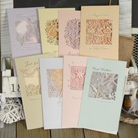 beautiful friendship cards - 8 sets of beautiful laser cut cards with envelopes birthday friendship handmade greeting cards
