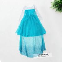 Cheap TuTu Elsa Dress Best Spring / Autumn A-Line Children Cosplay Dress