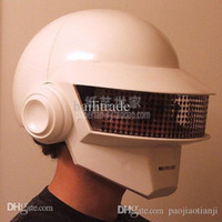Wholesale 3D Paper Model Daft Punk Helmet Mask Wearable Cosplay Model DIY Handmade Child Toys