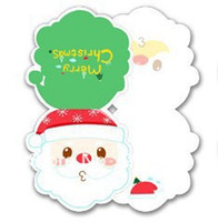 Wholesale Infeel Me colorful Christmas card card suit Comments folding card greeting card