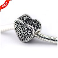 beads cube - Fits Pandora Bracelets Filled with Romance Silver Beads Sterling Silver Charms DIY Jewelry