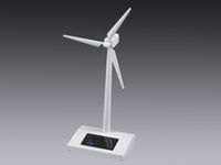 Wholesale 1pc ABS Solar Windmill Model Power by Sunlight Best Eductional Gift for Children or Promotion Gift