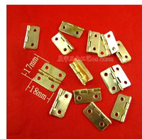 Wholesale 02 antique Lace type hinge wine small hinge hardware DIY accessories wooden jewelry box hinges