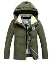 canada - Fall New Arrival Winter Casual Canada Mens Fur Collar Coat Outwear Coats Military Men Winter Jacket Men Parka Coats