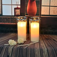 soy wax - Household wedding decoration soy candle flameless candle mini candle lanterns tealight candl wax candle romatic led candle non flame candle