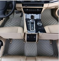benz custom - High quality Custom special floor mats for Mercedes Benz R MATIC seats waterproof non slip carpets for R400 Free shippin