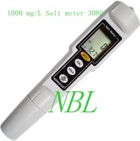 Wholesale 10pcs EMS Brand New High Accuracy LCD Display to mg L Pen Type Salt Meter Water Salinity Tester Waterproof