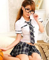 lingerie japan - Sexy Lady japan high school girl dress uniform women adult costume full outfit Cosplay sexy lingerie