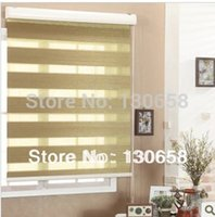 Wholesale 100 polyester zebra blind sheer shades custom made to measure many colour available