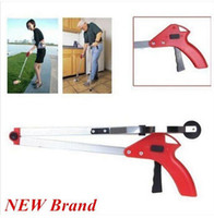 Wholesale Foldable Pick Up Grabber Long Arm Gripper Reacher Kitchen Litter Help Hand Home Clean Piler sale off