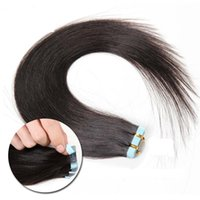 Wholesale Highest quality PU Weft Tape In Virgin Human Hair Extension Unprocessed Brazilian Hair Straight Skin Weft