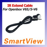 Wholesale IR Signal Extend Cable for skybox V6 S V6 S V6 Openbox V6S Satellite Receiver Remote signal Extend Cable D0267