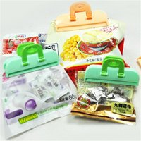 Wholesale 4PCS Portable ABS Practical Food Sealing Very Strong Clamp Clip Powder Food Package Bag Clip BZ678654