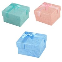 Wholesale Jewelry Display Paper Gift Box Earrings Ring Box Clouds Bow Watch Packaging Box Gift Box Watch Storage Cartridge Box Gifts For Women ZB0263