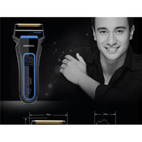 Wholesale New electric shaver electric razor v shaving kinds color new product promotion suitable for big beard mens Electric shaving double head
