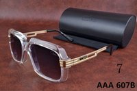 aviator design - Ca zal Eyewear b Germany top Quality New Vintage brand design Aviator Sunglasses Ca zal sun glasses Black men women Retro polarized lens