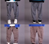 knit pants - 2015 Spring Autumn Children Casual Pants Good Quality Cheap Prince Knitting Fashion Zipper Kids Boys Trousers Retail AB2934