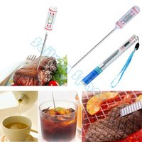 Wholesale New Digital Cooking Food Thermometer Cooking Food Probe Meat Thermometer For Kitchen BBQ B2 SV002484