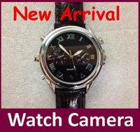Wholesale 2016 Hot sale Mini Hidden Wrist Watch Camera GB Video Spy Watch Camera DVR DV Waterproof Camcorder Memory Disk