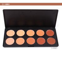 Wholesale In Stock Color Face Concealer Whitening Nutritious Water Resistant Palette Makeup for All Skin Types Fedex