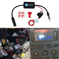 Wholesale 12V Car Radio Signal Amplifier ANT Auto Antenna Booster A3