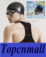 Wholesale Durable Stylish Sporty Latex Swimming Swim Cap Bathing Hat Blue White Black Pink