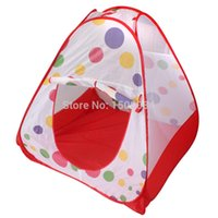 Cheap Childern kids Playing In&Outdoor Pop Up House Play Game Tent baby play house Castle Canopy toy multi-function Free Shipping