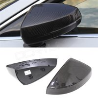 audi mirror covers - For Audi A3 S3 Replacement Carbon Fiber Rear View Mirror Cover Without Side Assit