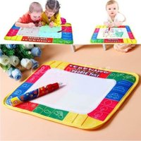 Wholesale Magic Pen Kids Children Toys Water Drawing Painting Writing Board Mat Xmas Gift Brand New