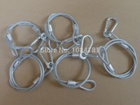 auto wiring accessories - pieces Steel Wire Safety rope cable for stage light security stage light accessories